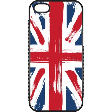 Painted UK Flag Case