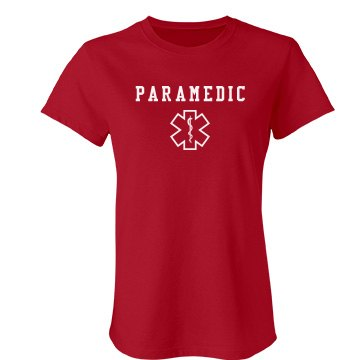 Paramedic Medical Shirt Junior Fit Bella Favorite Tee