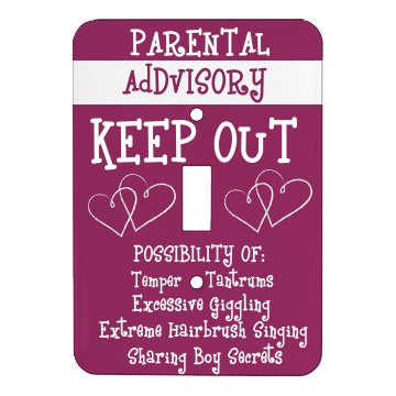 Parents Keep Out