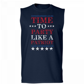 Party Like A Patriot Tank