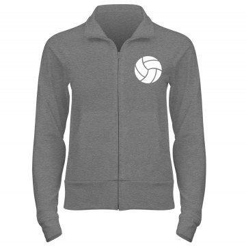 Patriots Volleyball Junior Fit Bella Cadet Full Zip Track Jacket