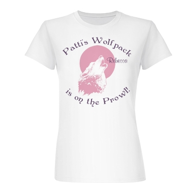Patti's Bachelorette Junior Fit Basic Bella Favorite Tee