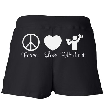 Peace, Love, & Workout
