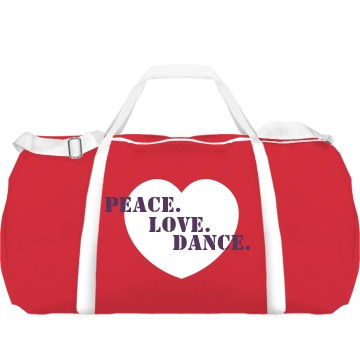 Peace Love Dance Heart Augusta Sport R