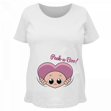 Peek-A-Boo Baby Heart