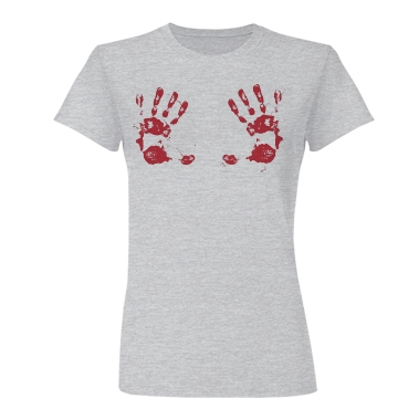 Perverted Walking Dead Junior Fit Basic Bella Favorite Tee