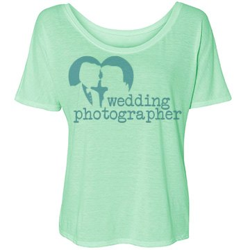 Photographer Wedding Bella Flowy Lightweight Simple Tee