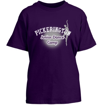 Pickerington Dance Camp Youth Gildan Heavy Cotton Crew Neck Tee