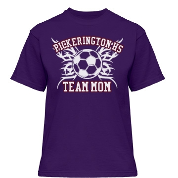 Pickerington Team Mom Misses Relaxed Fit Gildan Heavy Cotton Tee