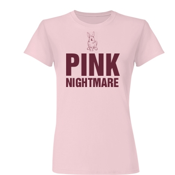 Pink Nightmare Junior Fit Basic Bella Favorite Tee