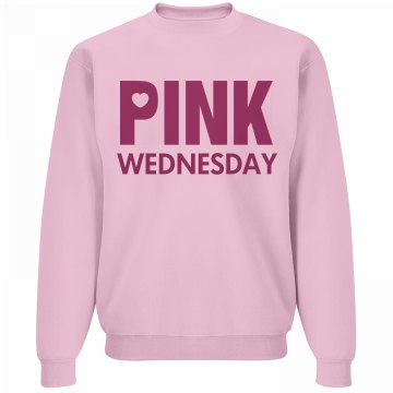 Pink Wednesday Sweatshirt