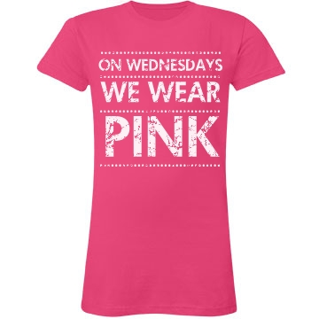 Pink Wednesdays Distress