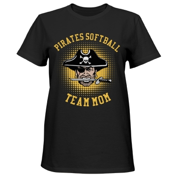 Pirates Softball Team Mom