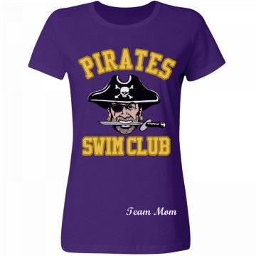 Pirates Swim Team Mom
