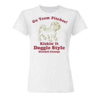 Pitches Kickball Champs