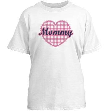 Plaid Mom Heart