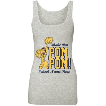 Pom Pon Cheerleader