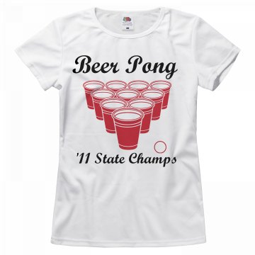 Pong State Champs Tee