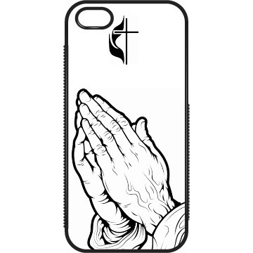 Praying To Cross iPhone
