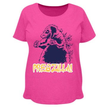 Pregzilla Destruction