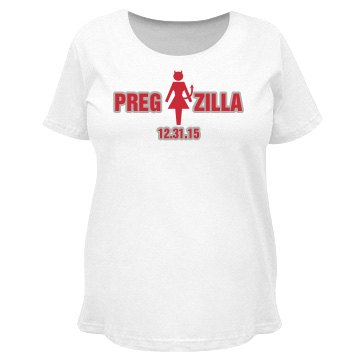 Pregzilla Devil Monster