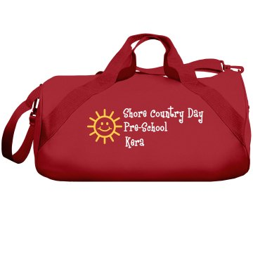 Pre-School Bag Liberty Bags Barrel Duffel Bag