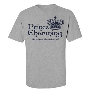 Prince Charming Unisex Basic Port & Company Essential Tee