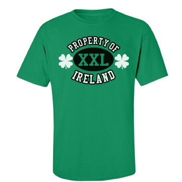 Property Of Ireland Unisex Port & Company Essential Tee