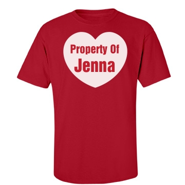 Property Of Jenna Unisex Port & Company Essential Tee