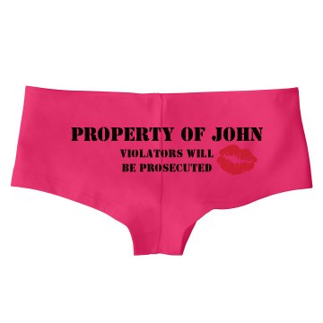 Property Of John