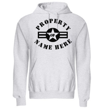 Property Of Lt. Jones Unisex Gildan Heavy Blend Hoodie
