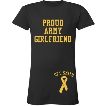 Proud Army Girlfriend