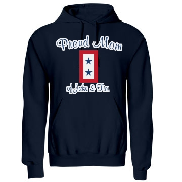 Proud Army Mom Unisex Gildan Heavy Blend Hoodie