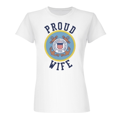 Proud C.G. Wife Junior Fit Basic Bella Favorite Tee