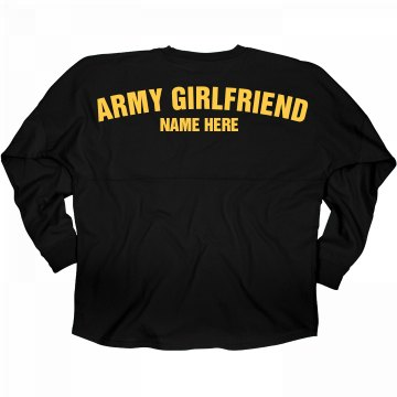 Proud Custom Army Girlfriend