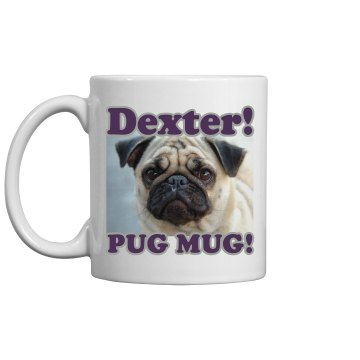 Pug Mug Upload Photo