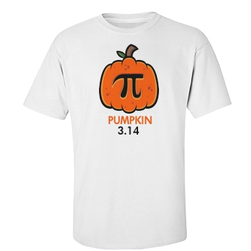 Pumpkin 3.14 Unisex Basic Port & Company Essential Tee