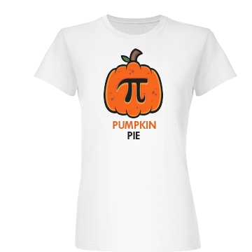 Pumpkin Pie Junior Fit Basic Bella Favorite Tee