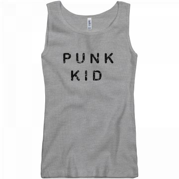 Punk Kid Junior Fit Basic Bella 2x1 Rib Tank Top