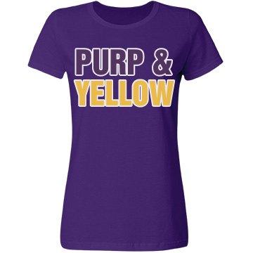Purp & Yellow