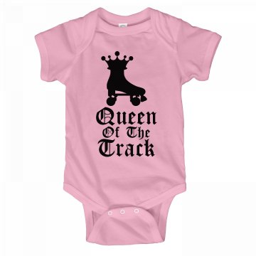 Queen Of The Track Onesie