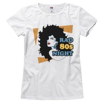 Rad 80's Night