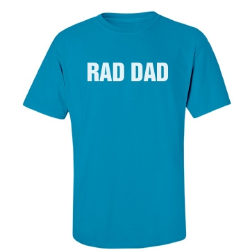 Rad Dad Tee Unisex Port & Company Essential Tee