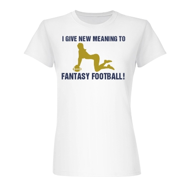Real Fantasy Football Junior Fit Basic Bella Fa