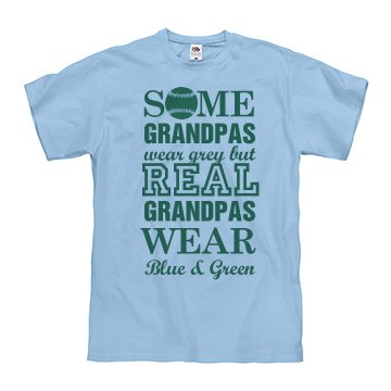Real Grandpa Baseball Fan