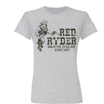 Red Ryder Junior Fit Basic Bella Favorite Tee