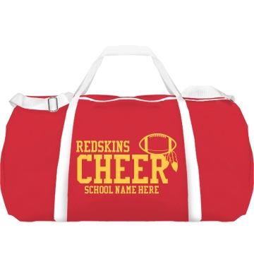 Redskins Cheer Bag Augusta Sport Roll Bag