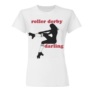 Roller Derby Darling Tee Jun