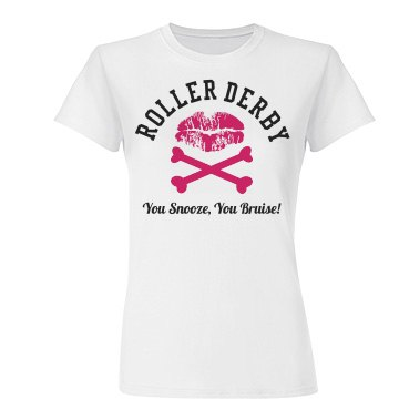 Roller Derby You Bruise T