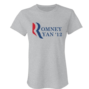 Romney & Ryan '12 Junior Fit Bella Favorite Tee